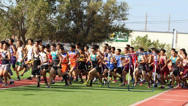 "The start of cross country season began Sept. 3 with the 4th Annual Rodolfo ""Rudy"" Alvarez Invitational at Del Valle."