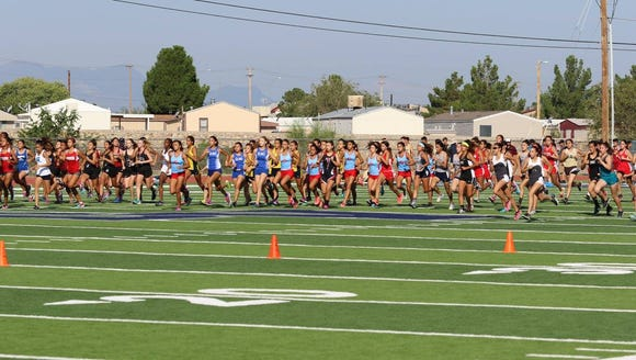 The girls cross country season began Saturday at Del