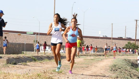 Socorro's Jessica Dominguez and Chapin's Skyler Goodman