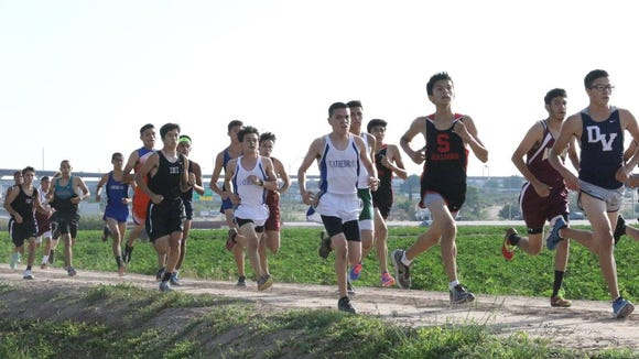 The boy's race will begin at 5 p.m. Friday at Horizon Golf Course.