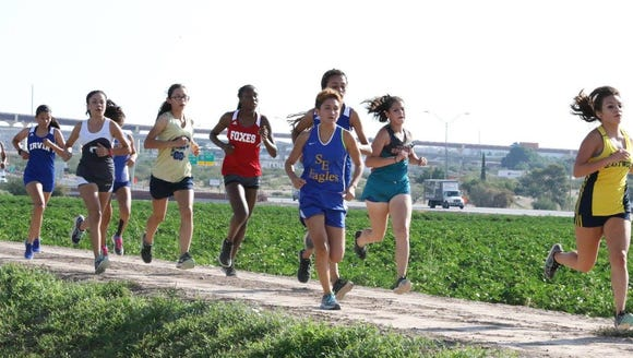 Close to 300 female runners will compete at Clint ISD's