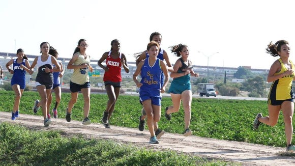 Close to 300 female runners will compete at Clint ISD's Coaching Legends Invitational Friday at Horizon Golf Course.
