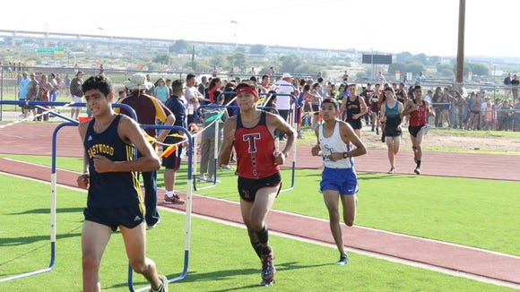 Credit the Tornillo Coyotes who raced in the 6A division at the Southlake Carroll Meet. Tornillo finished seventh.