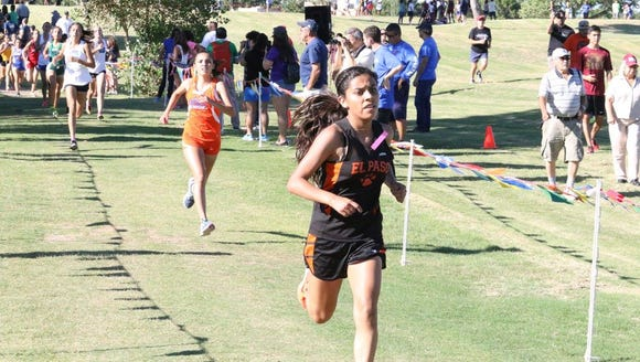 El Paso High had several runners turn in quality times