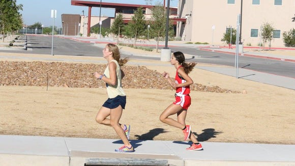Coronado's Jennelle Jaeger lead the T-Birds to a team