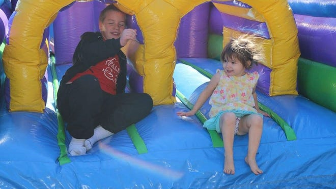 The bounce house at Full Spectrum Pediatric in Erin on Saturday, Nov. 12, 2016.