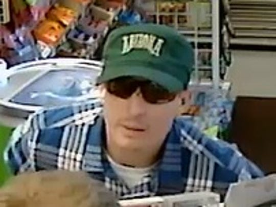 Suspect wanted in connection with multiple November
