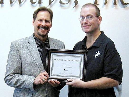 Pathways Inc. President and CEO Edward J. Lukomski,