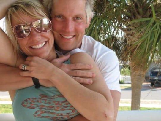 Joe Paavola and his wife, Lana