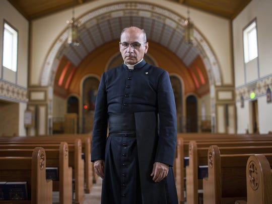 Father Joseph Terra survived a robbery and attack at