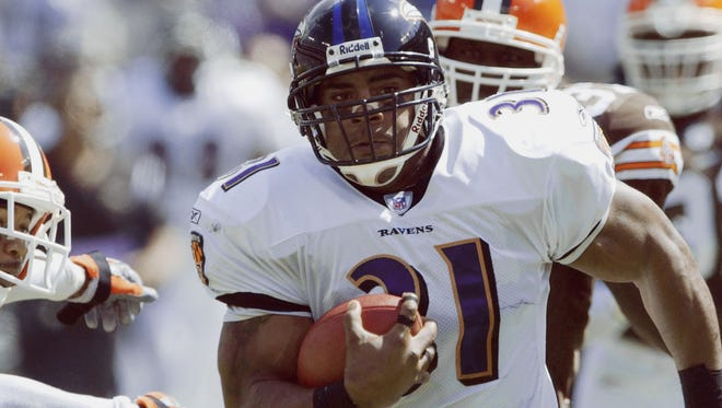Jamal Lewis set the single-game rushing record in Week 2 of the 2003 season when he rushed for 295 yards. He wound up falling just 39 yards shy of Eric Dickerson's single-season NFL record. His single-game record has since been broken.
