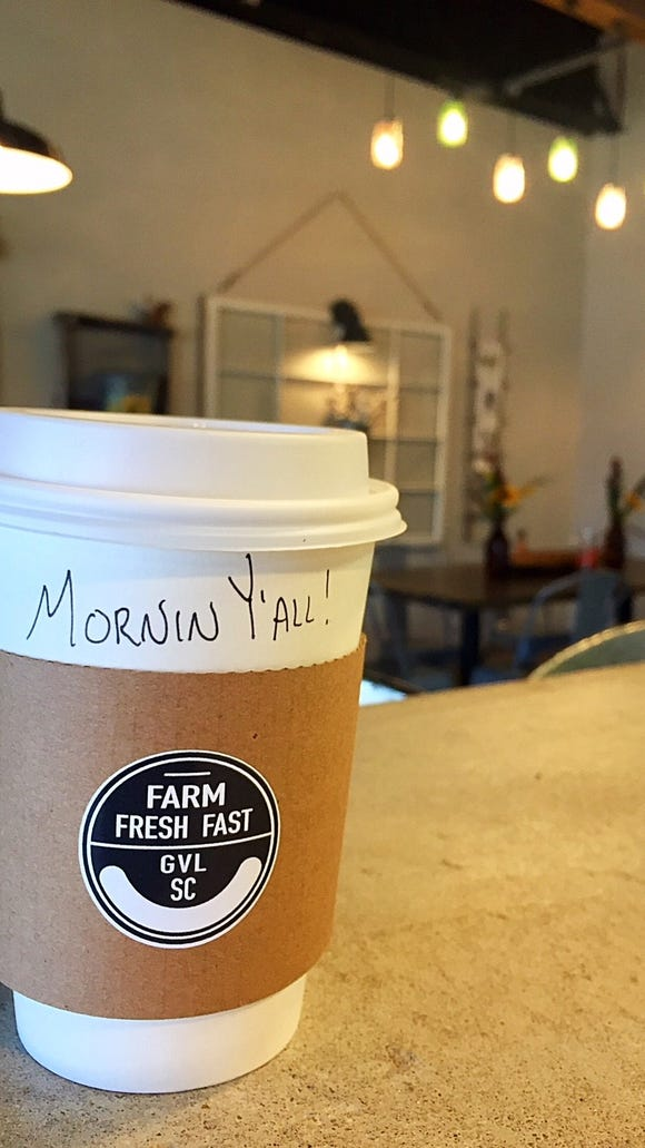 Farm Fresh Fast is now serving Due South coffee at its store and through its drive thru.