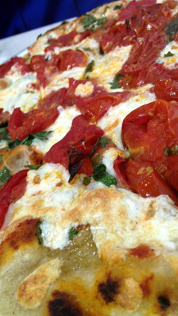 The Roasted Tomato Arrabiata with Goat Cheese and Parsley at Breadico.