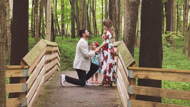Grant Tribbett and Cassandra Reschar, both of Westfield, got engaged May 27, 2017. A blog post detailing their engagement story has since gone viral.