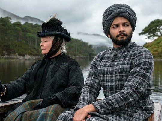 Judi Dench returns to her role of Queen Victoria alongside Indian actor Ali Fazal in 'Victoria & Abdul.'