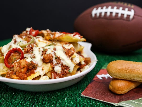 Loaded Pasta Chips recipe from Olive Garden