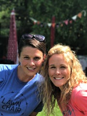 Founders of the Lawn Chair Concert Series, Shandy Dixon and Amy Boling, are best friends as well as partners.
