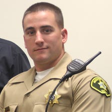 Monroe County Deputy Michael Norris was shot Saturday evening while responding to a call.