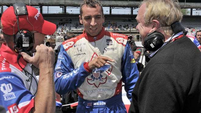 Justin Wilson has competed in seven Indy 500s, finishing fifth in 2013.