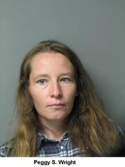 Peggy Wright and her boyfriend have been charged with