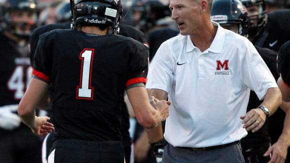 Maryville head coach George Quarles and the Rebels