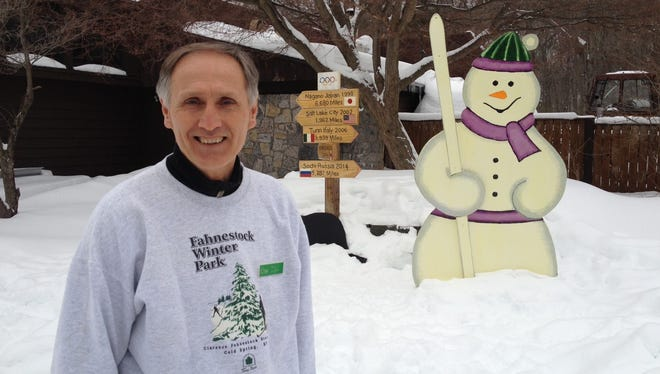Paul Kuznia runs the Taconic Outdoor Education Center and oversees Fahnestock Winter Park. He said more than 900 people showed up on Presidents' Day to ski and snowshoe. It was a turnout unlike anything he'd seen before.