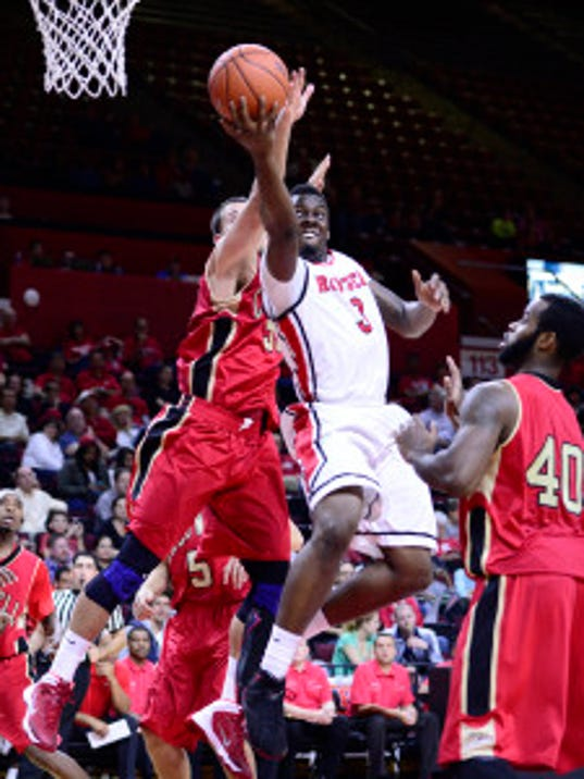 Kerwin Okoro is just one of three guards on board for 2015-16