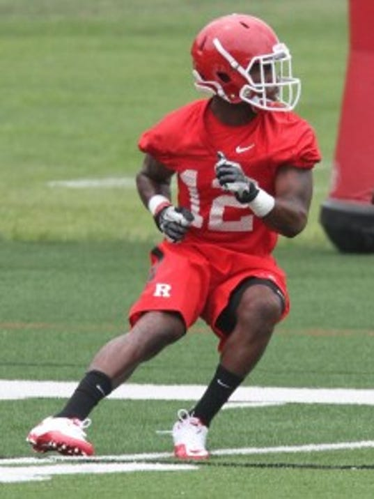 "Rutgers cornerback Nadir Barnwell said it was ""annoying"" and made him mad to hear talk being underdog in the Big Ten during the offseason. (Mark Sullivan/MyCentralJersey.com)"