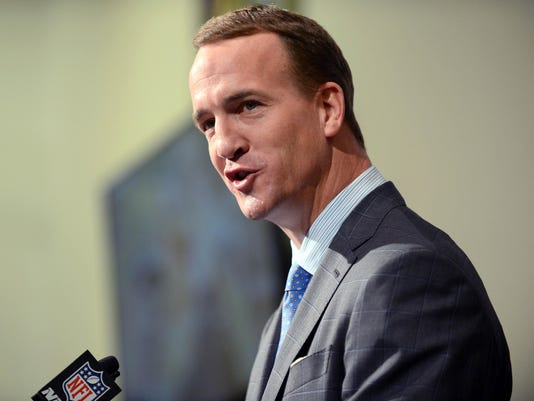 USP NFL: DENVER BRONCOS-PEYTON MANNING PRESS CONFE S FBN USA CO