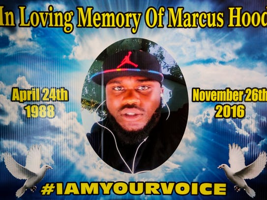 Daphine Renee Perkins' son Marcus Hood died in a shooting