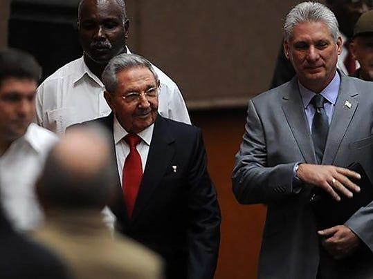 TOPSHOT-CUBA-POLITICS-CASTRO-ASSEMBLY-DIAZ-CANEL