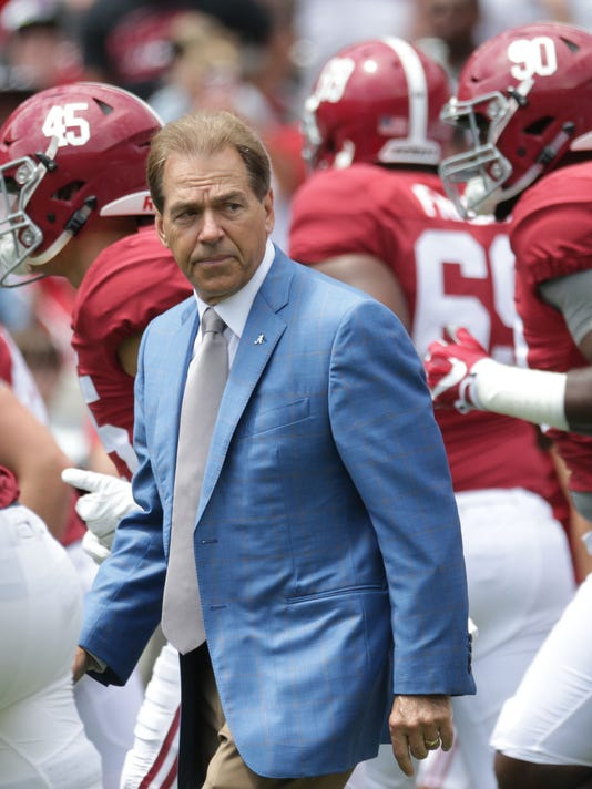 NCAA Football: Alabama Spring Game-A-Day