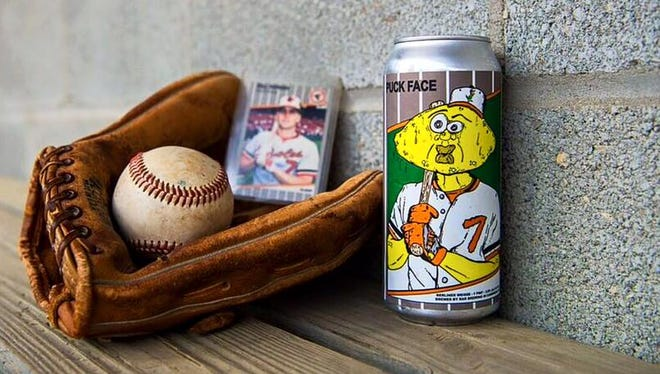 "Cambridge-based brewery RaR's new sour beer, ""Puck Face"" draws it name from a famous Billy Ripken card."