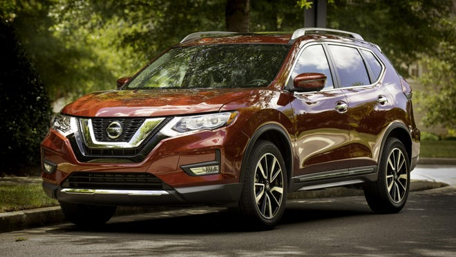 Nissan Motor Co. is planning to cut global output by around 15 percent for the fiscal year to March 2020, the Nikkei reported, citing unnamed sources. The 2019 Nissan Rogue is shown.