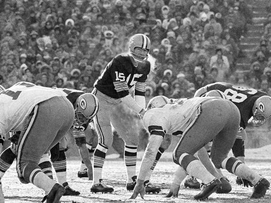 FILE - In this Dec. 31, 1967, file photo, Green Bay