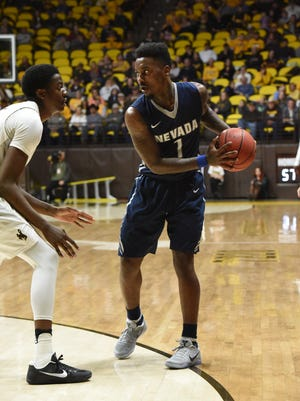 Wolf Pack senior guard Marcus Marshall scored a game-high 32 points to lead Nevada to an 89-74 win over Wyoming.