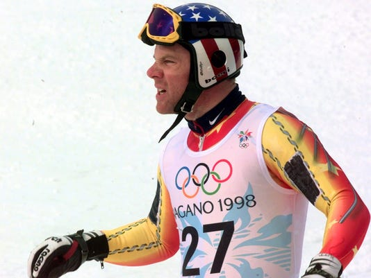 JAPAN OLYMPIC SKIING - A.J. KITT