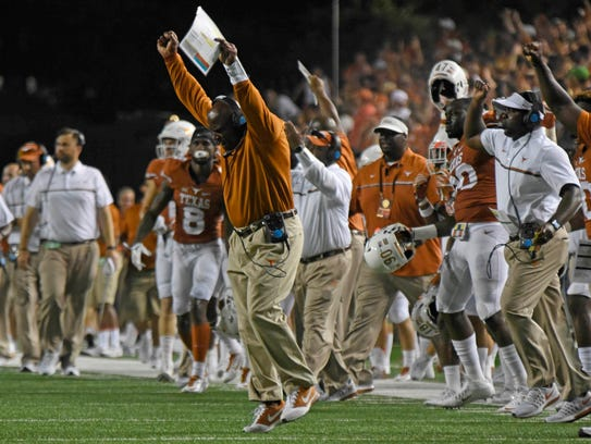 Texas has a losing record at the season's midpoint,