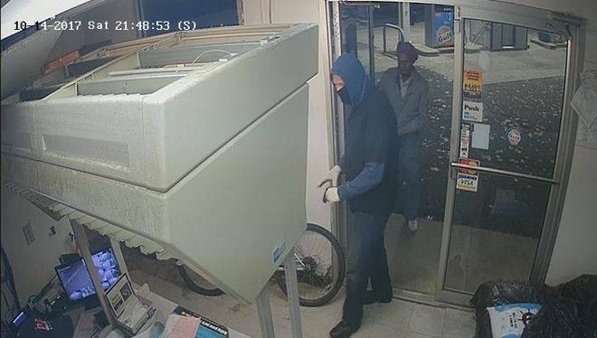 Haddon Township Police are seeking the public's help in identifying this man, suspected in an Oct. 14 gas station robbery.