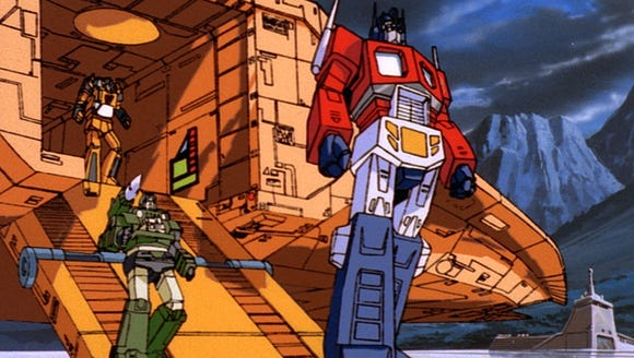 The original animated 'Transformers: The Movie' is