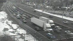 At least one late of northbound I-71 just south of