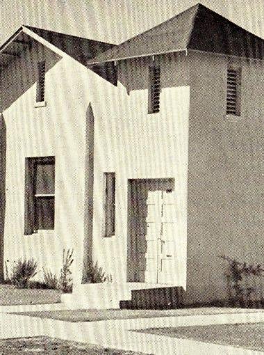 Beth El Synagogue at Fillmore and Fourth streets, 1930s
