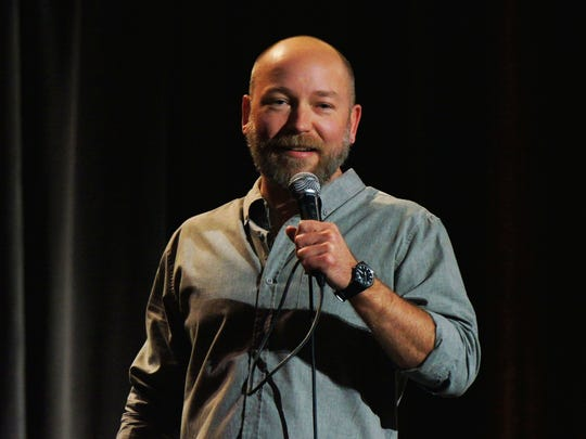 Comedian Kyle Kinane will appear at Minglewood Hall's 1884 Lounge on Monday night.