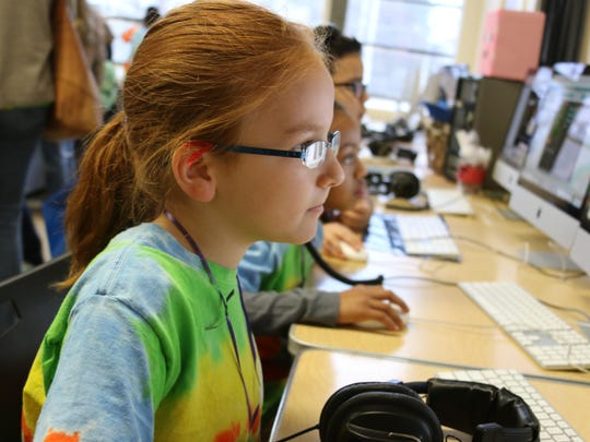 Coding gives kids another way to express themselves.