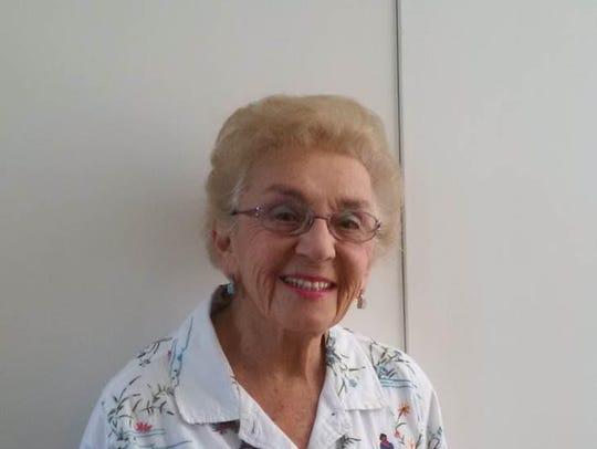 Celina Karp Biniaz, who survived the Holocaust as a