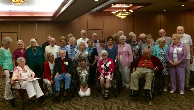 About 40 graduates from the Green Bay West High School Class of 1951 gathered Aug. 13 for their 65-year class reunion at 1951 West restaurant in Howard.