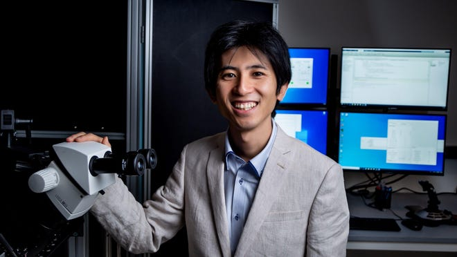 Hidehiko Inagaki, a researcher at the Max Planck Florida Institute for Neuroscience in Jupiter, aims to unlock some of the mysteries of the brain.