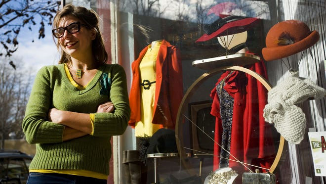 Franzi Charen, co-owner of Hip Replacements boutique, helped start the Asheville Grown Business Alliance.