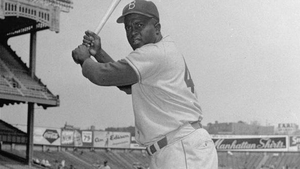 Jackie Robinson played 10 seasons with the Brooklyn