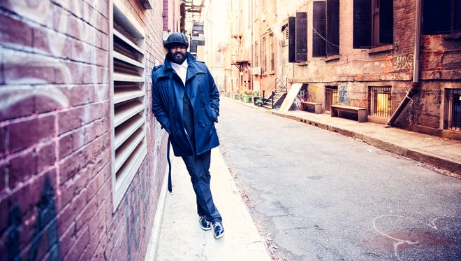 Gregory Porter performs Wednesday on the first night of the Festival International de Jazz de Montreal.